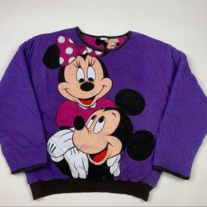 Vintage Disney Mickey Mouse Warm Sweatshirt